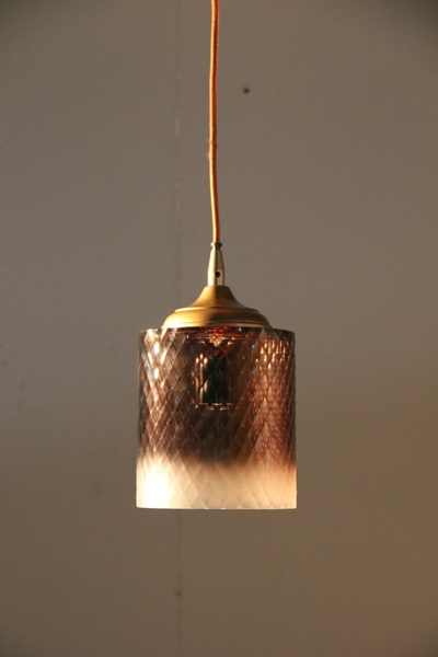 Lamp Hanging Cylinder Ombre S