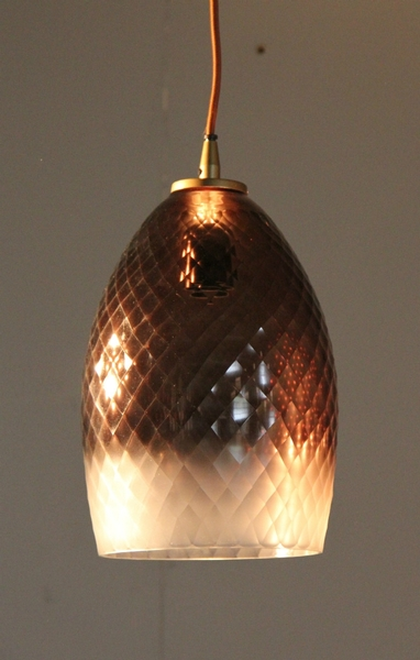 Lamp Hanging Round Ombre L