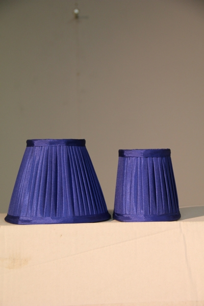 Lampshade Blue